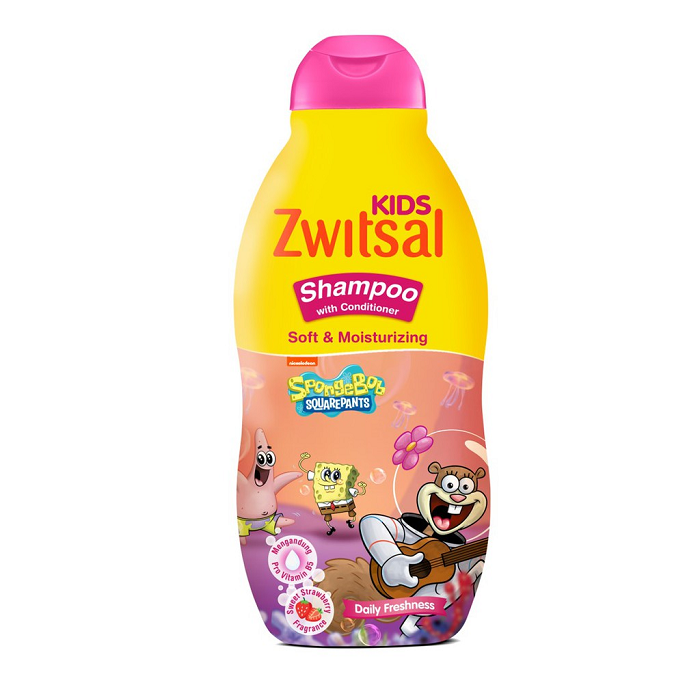 ZWITSAL KIDS ACTIVE SHAMPOO SOFT&MOISTURIZING 180ML