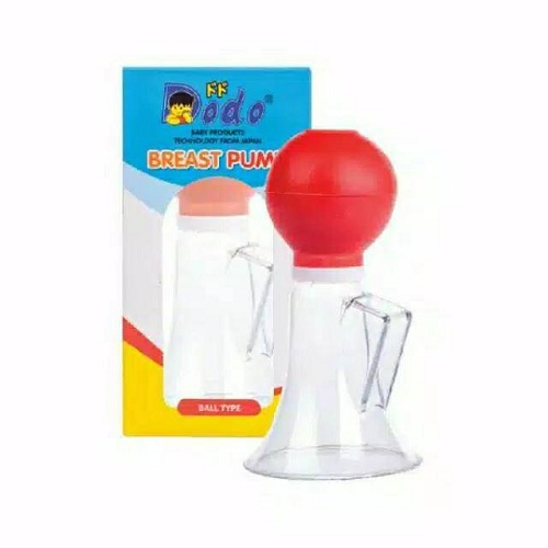 Dodo Breast Pump Atau Pompa Air Susu Manual Buat Ibu Dan Anak Ball Type Termurah - A
