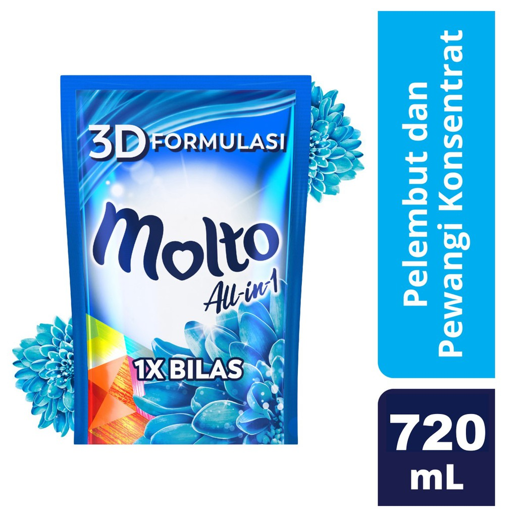 MOLTO SB ALL IN 1 720ml BLUE RF