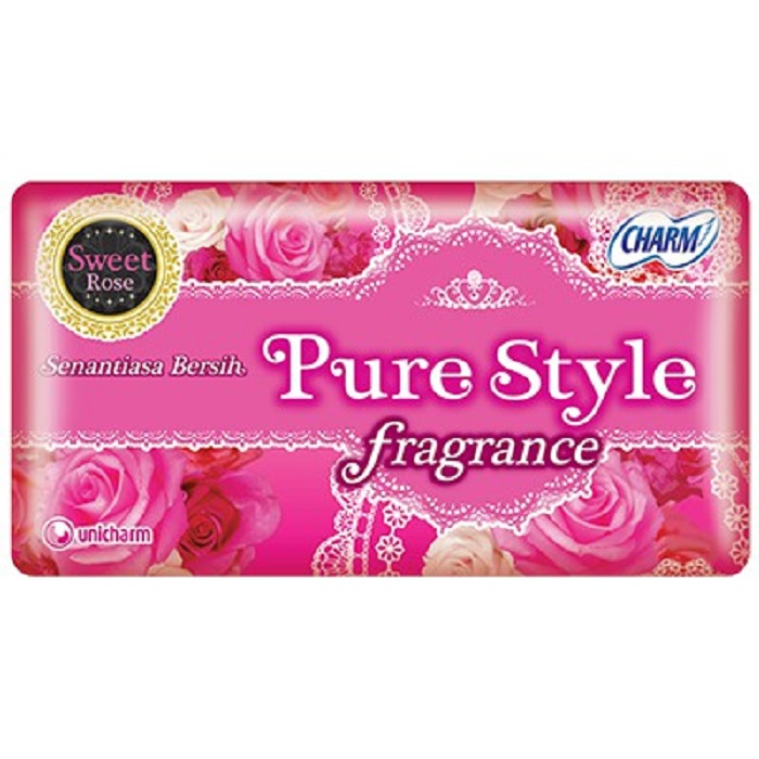 CHARM PANTY PURE STYLE SWEET ROSE 20pads